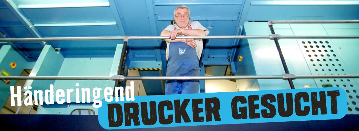 Händeringend Drucker gesucht