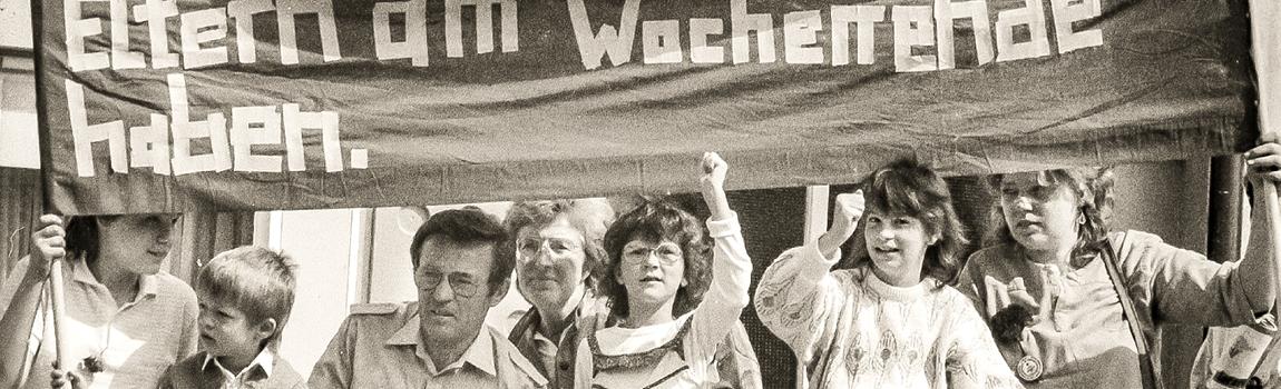 Vor 30 Jahren: Kampf um den freien Samstag