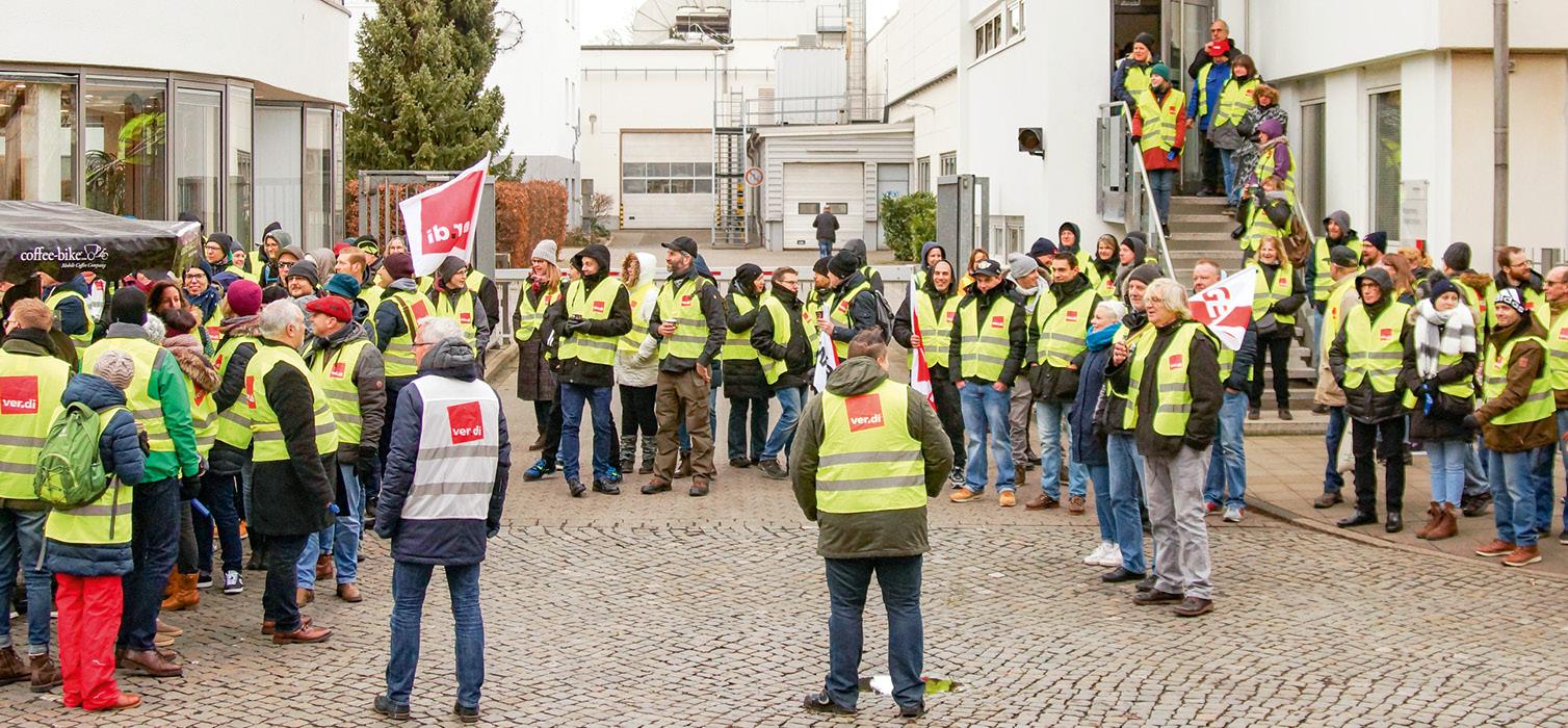 Die allerersten Streiks