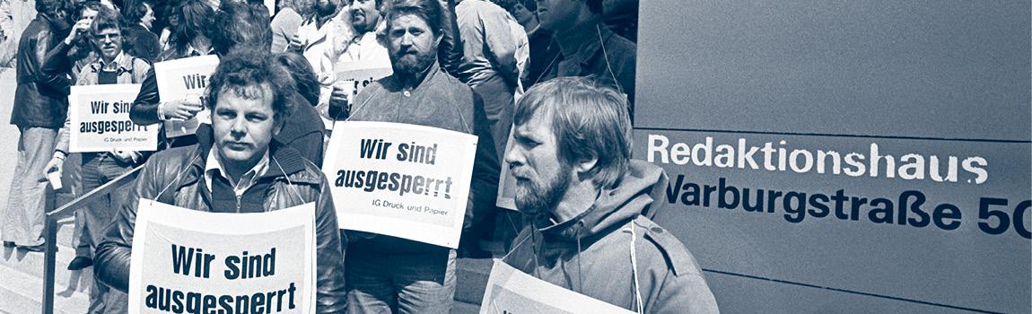 1976: Streik für Tarifautonomie