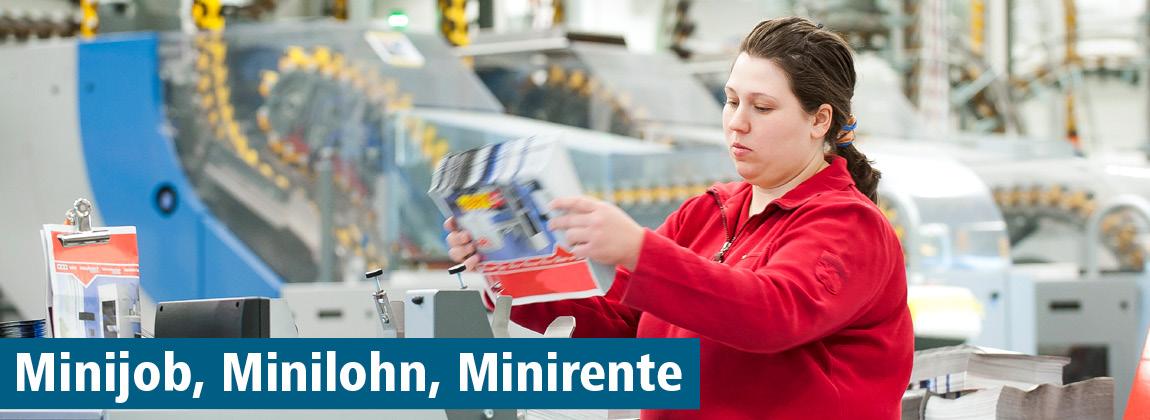 Minijob, Minilohn, Minirente