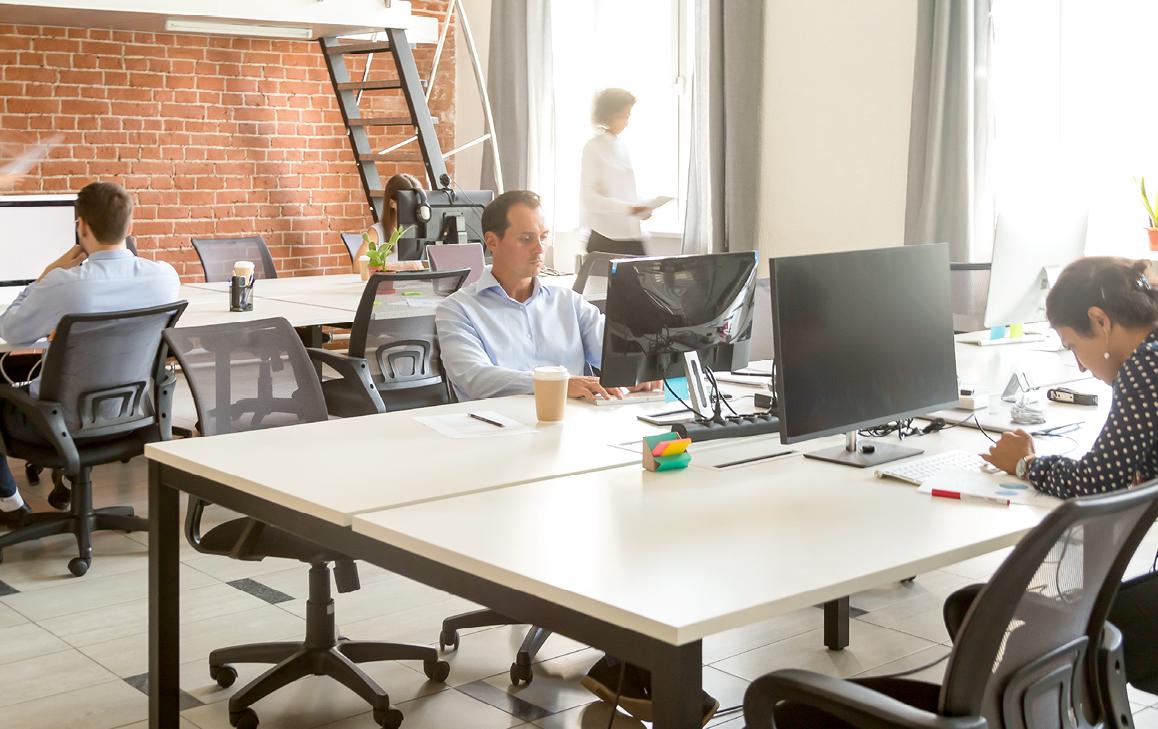 Die Mischung macht's: Mal im Büro, mal zu Hause