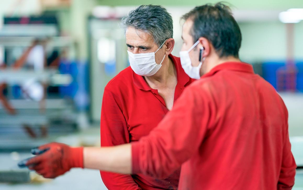 Masken, Kurzarbeit und das Virus