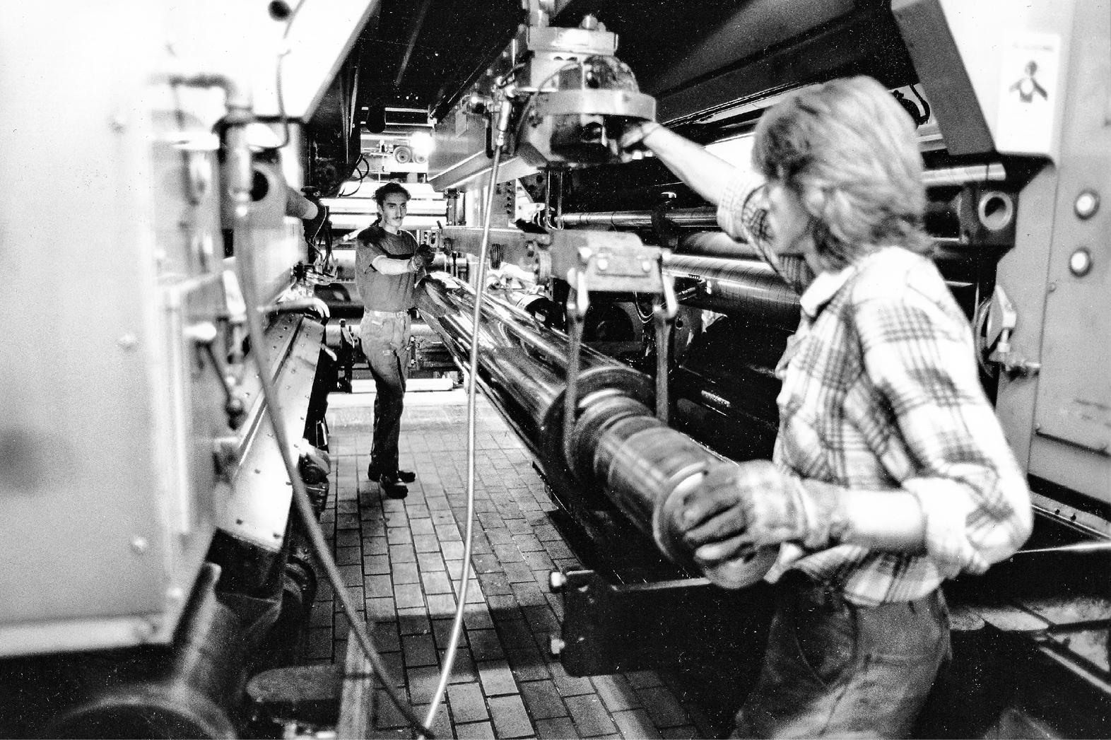 1993-06-00_–_Bachmeier_–_Tiefdruckerei_Sebald_N_rnberg_–_Wechseln_der_Walze